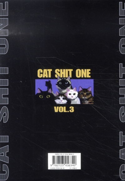 Dos cat shit one tome 3