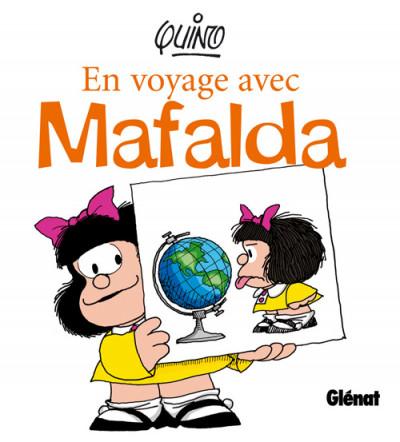 Couverture en voyage avec mafalda