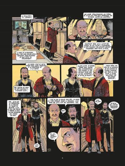 Page 7 les nouveaux tsars tome 4 - révolution, révolution