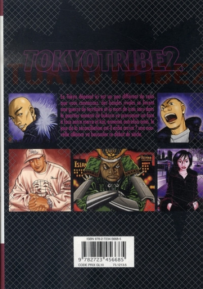 Dos tokyo tribe 2 tome 2