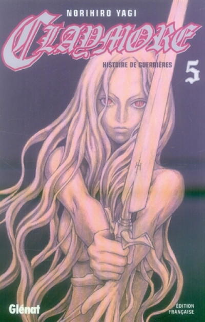 Couverture Claymore tome 5