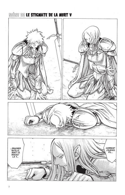 Page 6 Claymore tome 5