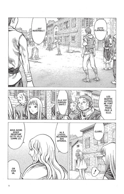Page 8 Claymore tome 5