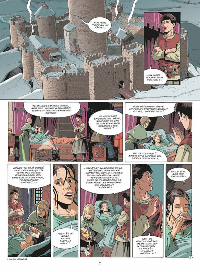 Page 8 les aigles décapitées tome 20 - l'ordre du temple