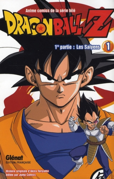 Couverture dragon ball z - cycle 1 tome 1