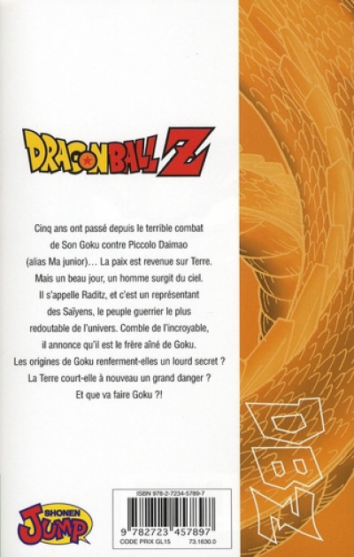 Dos dragon ball z - cycle 1 tome 1