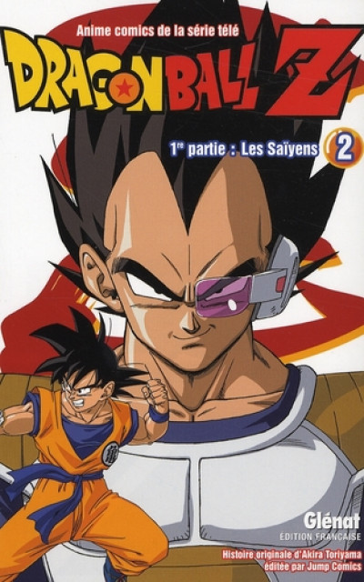 Couverture dragon ball z - cycle 1 tome 2