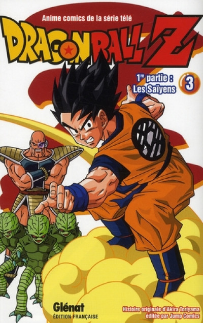 Couverture dragon ball z - cycle 1 tome 3