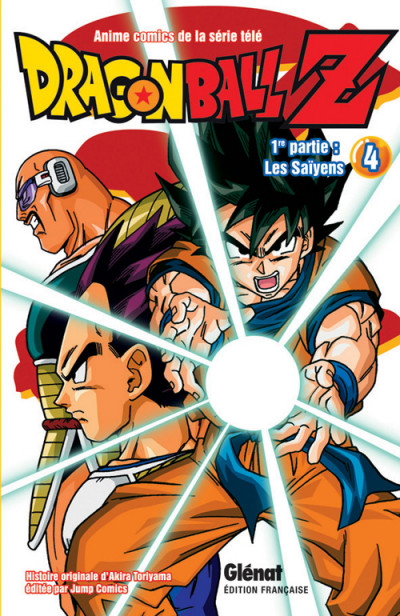 Couverture dragon ball z - cycle 1 tome 4