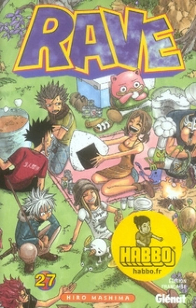 Couverture rave tome 27