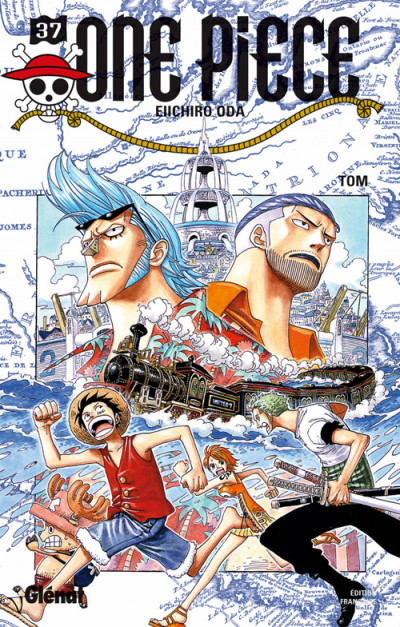 Couverture one piece tome 37 - tom