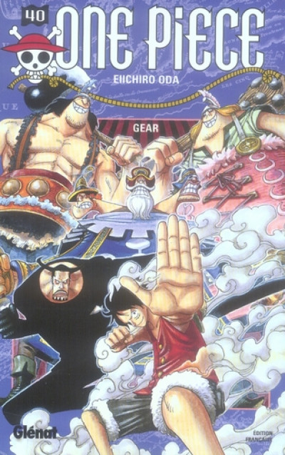 Couverture one piece tome 40 - gear