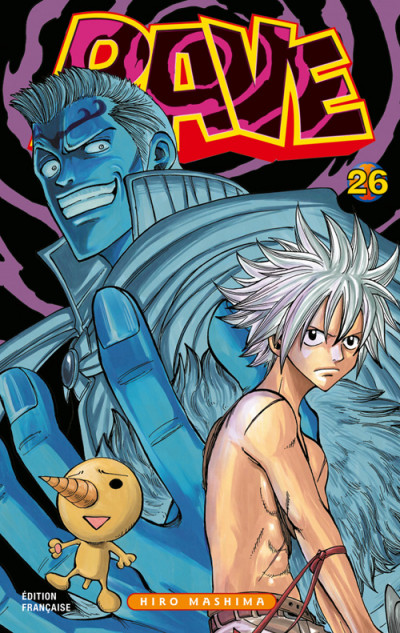 Couverture rave tome 26