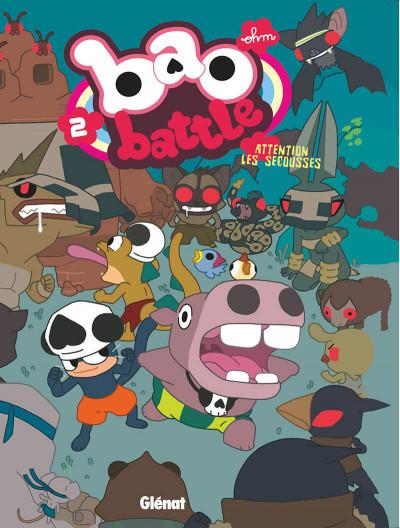 Couverture bao battle tome 2 - attention les secousses