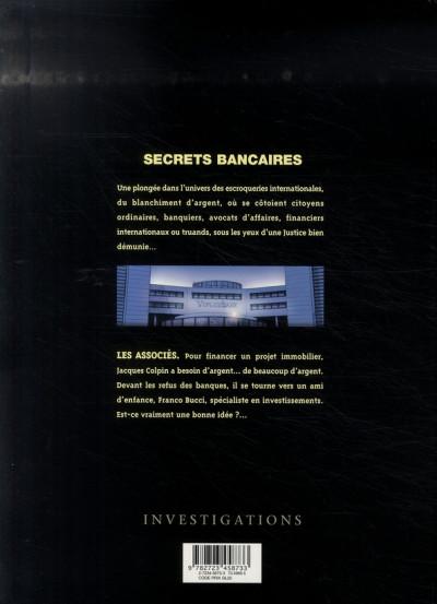 Dos secrets bancaires tome 1.1 - les associés