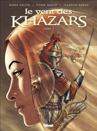 Couverture le vent des khazars tome 1
