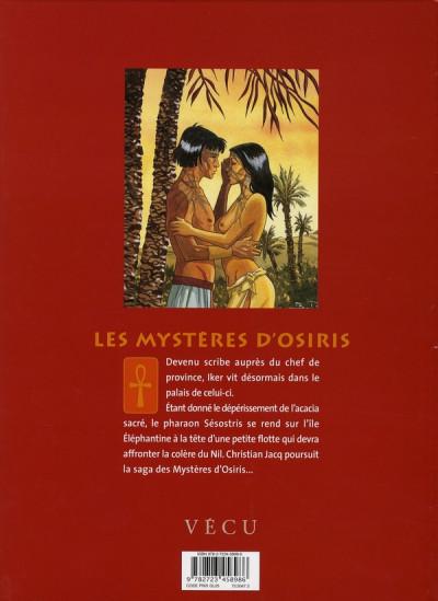 Dos les mystères d'osiris tome 2 - l'arbre de vie