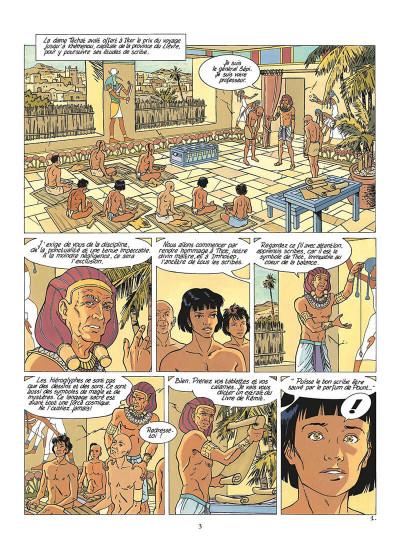 Page 4 les mystères d'osiris tome 2 - l'arbre de vie