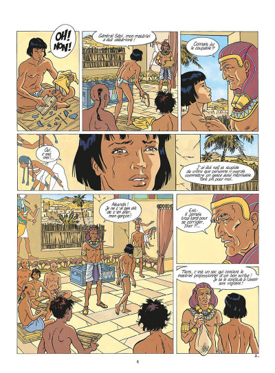 Page 5 les mystères d'osiris tome 2 - l'arbre de vie