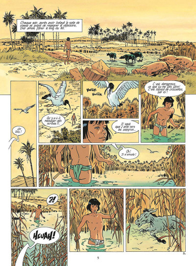 Page 6 les mystères d'osiris tome 2 - l'arbre de vie