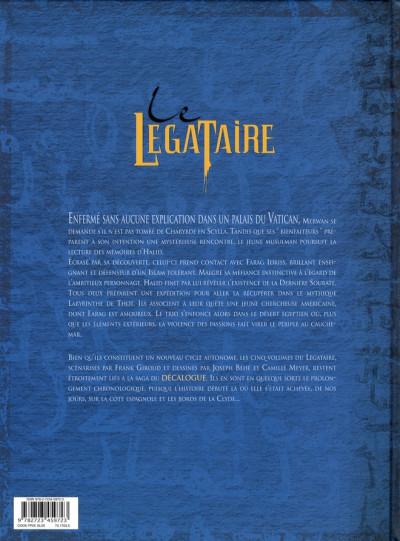Dos le légataire tome 3 - le labyrinthe de thot