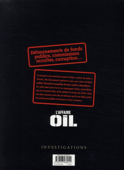 Dos l'affaire oil tome 1 - engrenages