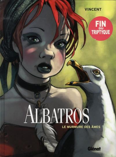 Couverture albatros tome 3 - le murmure des âmes
