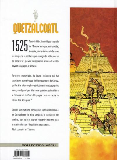 Dos quetzalcoatl tome 7 - le secret de la malinche