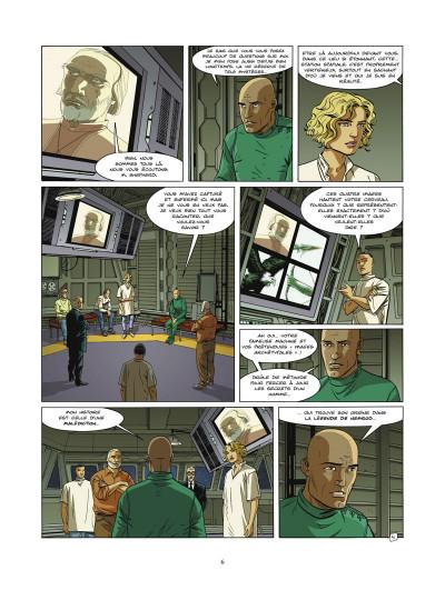 Page 4 l'ultime chimère tome 3 - la légende