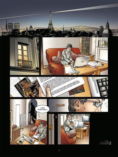 Page 1 voyageur tome 3 - présent