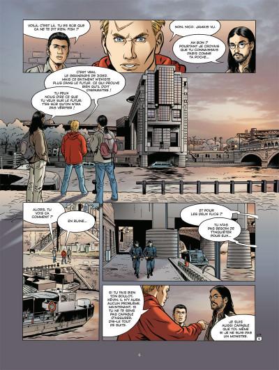 Page 4 voyageur tome 3 - présent