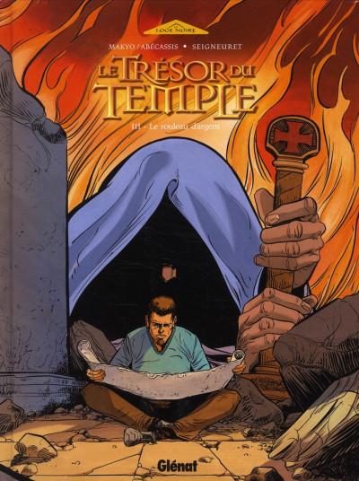 Couverture le trésor du temple tome 3 - le rouleau d'argent
