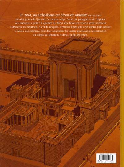 Dos le trésor du temple tome 3 - le rouleau d'argent