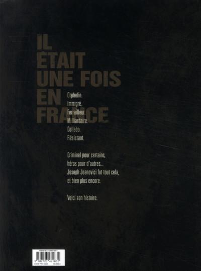 Dos Il était une fois en france tome 2