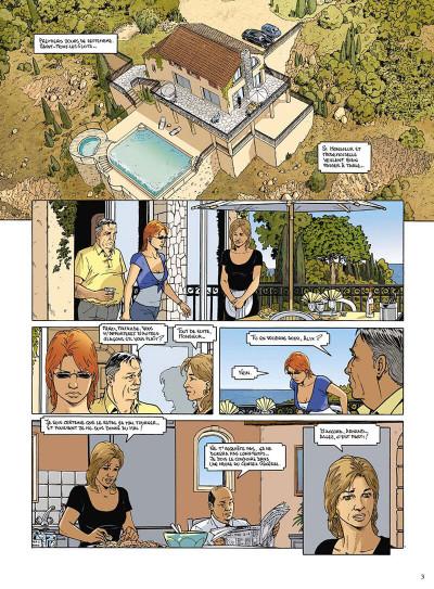 Page 4 mortelle riviera tome 3 - la défunte