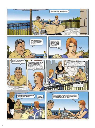 Page 5 mortelle riviera tome 3 - la défunte
