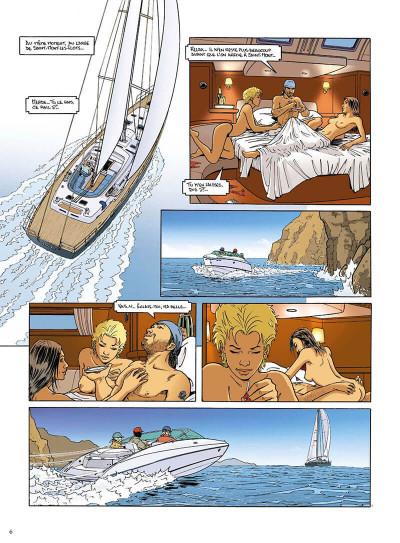 Page 7 mortelle riviera tome 3 - la défunte