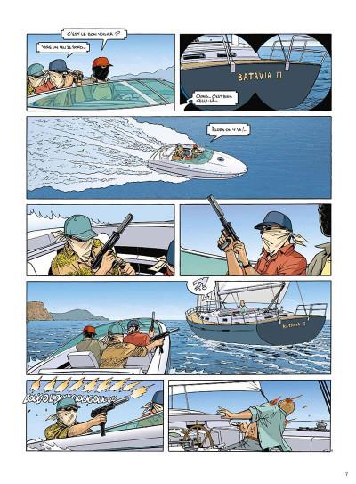 Page 8 mortelle riviera tome 3 - la défunte
