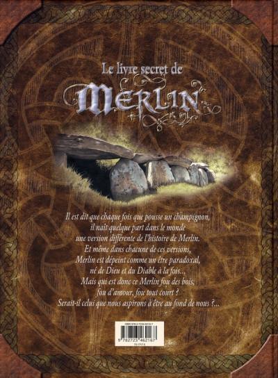 Dos le livre secret de merlin