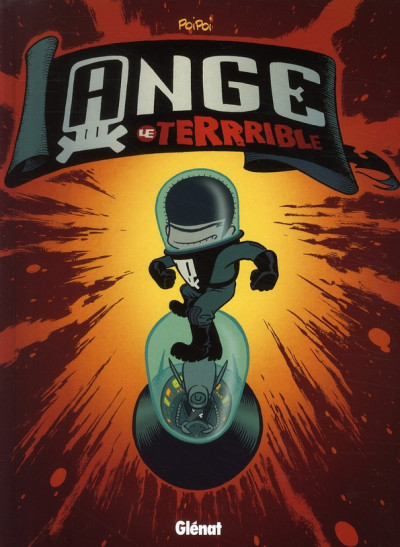 Couverture ange le terrible tome 1