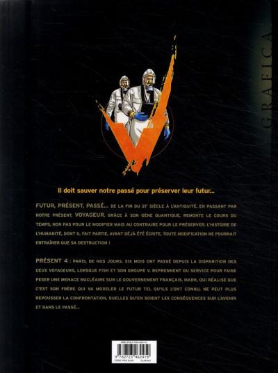 Dos voyageur tome 4 - présent