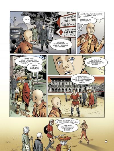 Page 2 voyageur tome 4 - présent