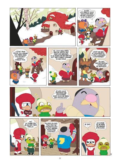 Page 6 bao battle tome 3 - un pour tous