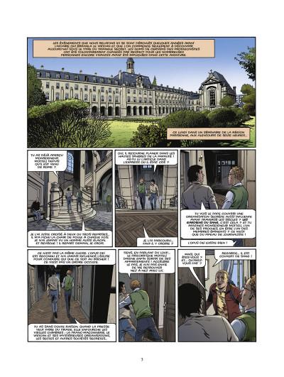 Page 1 le triangle secret - les gardiens du sang tome 1 - le crâne de cagliostro
