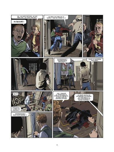 Page 2 le triangle secret - les gardiens du sang tome 1 - le crâne de cagliostro