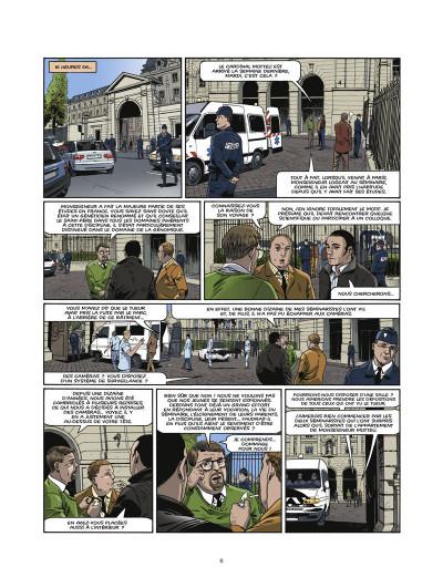 Page 4 le triangle secret - les gardiens du sang tome 1 - le crâne de cagliostro