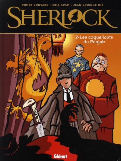 image de sherlock tome 2 - les coquelicots du penjab