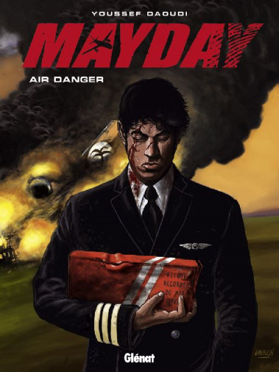 Couverture mayday tome 1 - air danger