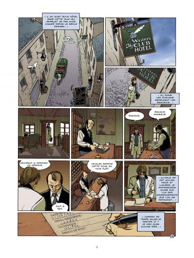 Page 3 l'ultime chimère tome 5 - le livre