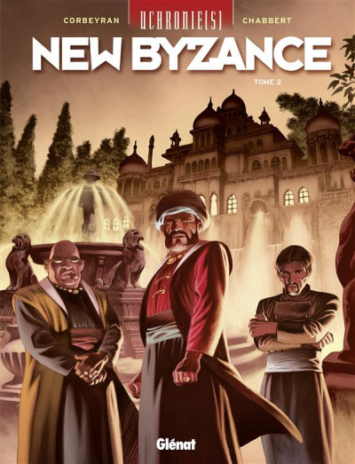 Couverture Uchronie(s) - New Byzance tome 2